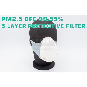 R-Guardian Smart Electric Mask - White ( PM2.5 BFE 99.55% ) ( 5 Layer Protective Filter ) ( 智能電動風扇口罩 )