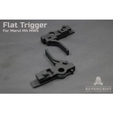 Revanchist Flat Trigger Type B For Marui M4 MWS