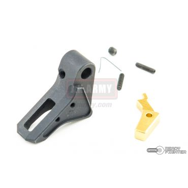 Ready Fighter FI Style CNC Aluminum Trigger G Series GBB Pistol ( Black ) ( TM / KJ / WE / VFC G Model )