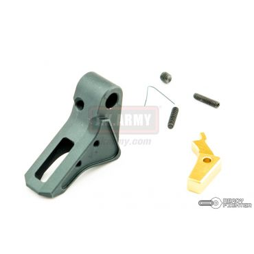 Ready Fighter FI Style CNC Aluminum Trigger G Series GBB Pistol ( TI Grey ) ( TM / KJ / WE / VFC G Model )