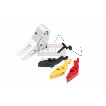 Ready Fighter S Style Flat-Faced Trigger Adjustable For TM / KJ / WE / VFC G Model Series ( SV )