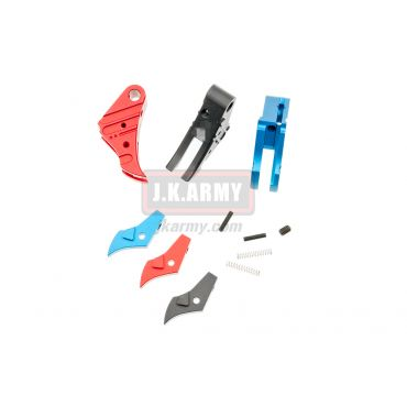 Ready Fighter SSVI Style Trigger For Marui / KJ / WE / VFC Glock Series ( G Model )