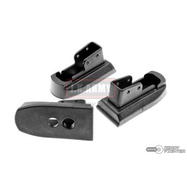 Ready Fighter Magazine Base Pad for Marui 1911 / MEU GBB Series ( COST Style ) ( Black ) ( Extended Base Pads )