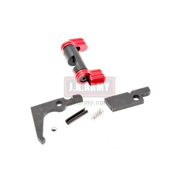 RGW Semi / Full Auto Sear & Selector Kit for KJ KC-02 ( Red ) ( KC02 )