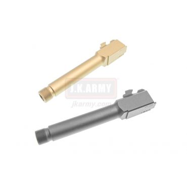 Pro-Arms Airsoft 14mm CCW Threaded Barrel for VFC / Umarex Glock 19X / 19 Gen 4 ( BK / FDE )