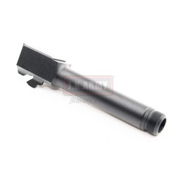 Pro-Arms Airsoft Aluminum 14mm CCW Threaded Outer Barrel for UMAREX Glock 19 Gen3 / Elite Force Model 19 Gen3 Pistol ( BK )
