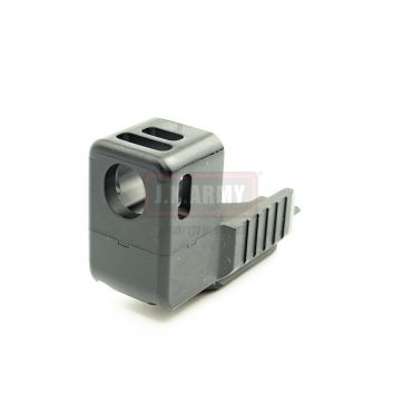 Pro-Arms Airsoft DHD Compensator Mount Type for TM / WE / Umarex / VFC G19 ( BK )