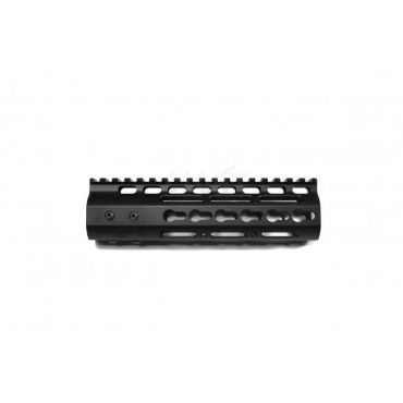 NSR Styled Rail 7 inch Keymod for PTW / GBB Airsoft ( Black )