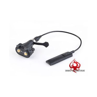 Night Evolution Remote Dual Switch Assembly for X Series ( BK )