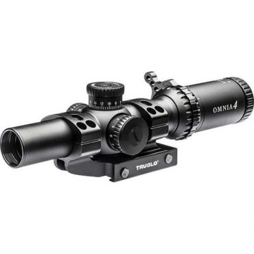 TRUGLO OMNIA™ A4 1-4X Illuminated Reticle Tactical Scope
