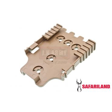 Safariland Model 6004-22 Quick Locking System - Receiver Plate ( QLS 22 ) ( FDE )