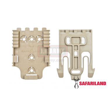 Safariland Quick Locking System Kit QLS ( FDE )