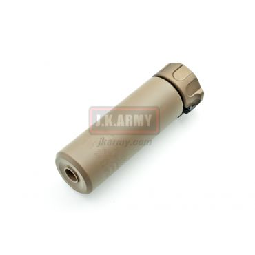 Socom556 Mini Mock Dummy Silencer with Flash Hider ( 14CCW ) Short ( DE )