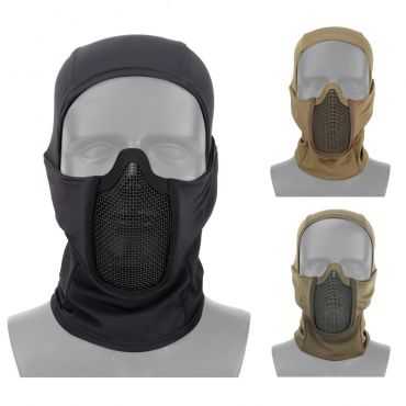 SFH Shadow Fighter Headgear Protective All-in-one Head Cover with Mask ( BK / OD / TAN / MC )