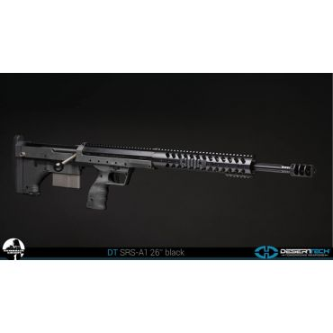 "Silverback SRS A1 Bullpup Sniper - BK ( 26"" Long Barrel, Desert Tech Licensed )"