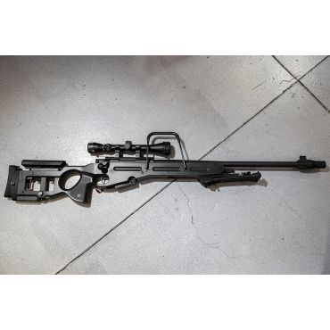 Snow Wolf SV-98 Bolt Action Air-Cocking Sniper Rifle ( Black )