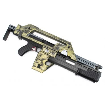 Snow Wolf M41A Pulse Rifle AEG ( Alien Gun ) ( Brown Green )