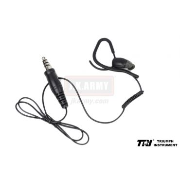 RI M3S Type Conduction Headset ( Ear Quake ) ( Black ) ( 1Pin )