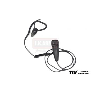 TRI M3S Type Conduction Headset ( Ear Quake ) ( Black ) ( 4Pin )
