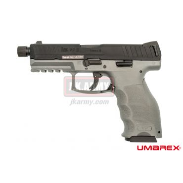 Umarex H&K VP9 GBB Pistol Airsoft Tactical Threaded Barrel Ver. ( Grey ) ( VFC ) ( Asia Edition )