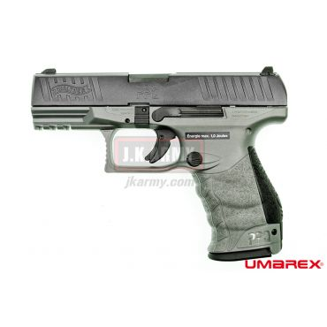 UMAREX WALTHER PPQ M2 6MM GBB Pistol ( Gray )