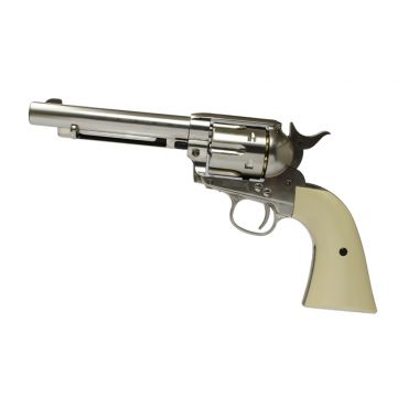 UMAREX COLT SAA.45 CO2 4.5mm (NICKEL / PEARL)