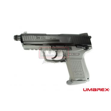 Umarex HK45 Compact Tactical GBB Pistol Airsoft ( VFC Asia Version / Metal Grey ) ( HK45CT )