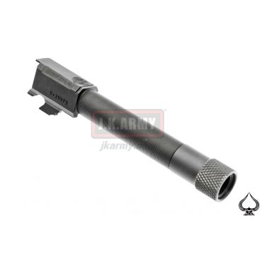 VP9 Aluminum Tactical Threaded Barrel for Umarex VP9 ( BK )