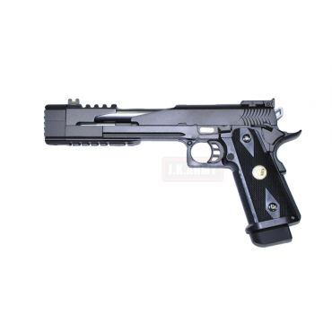 WE HI-CAPA 7inch Dragon B Full Metal GBB Pistol ( Black )