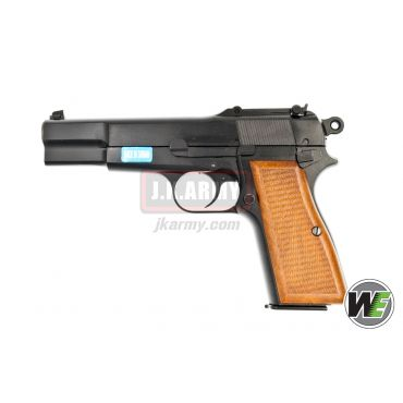 WE Browning Hi-Power M1935 GBB Pistol ( Black )
