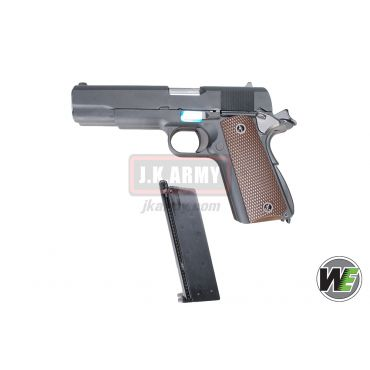 WE Double Barrel 1911 Full Metal GBB Pistol Airsoft ( BK )