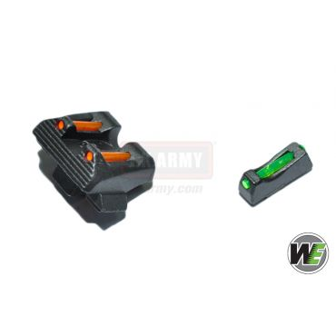 WE Fiber Optic Sight For WE/ HK Series Glock GBB