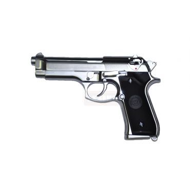 WE Chrome Edition M92F GBB Pistol