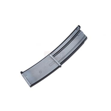 WE SMG-8 / New Wave Small Rice 7 Airsoft Gas Blowback 44 Round Magazine ( BK )