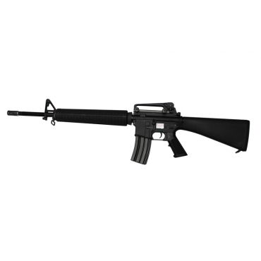 WE Full Metal M16A3 RAPTOR KATANA Airsoft AEG Rifle ( BK )