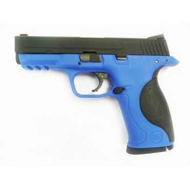 WE Toucan Metal Slide GBB Pistol ( Blue ) ( BK Slide, Blue Frame )
