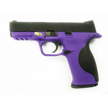 WE Toucan Metal Slide GBB Pistol ( Purple ) ( BK Slide, Purple Frame )