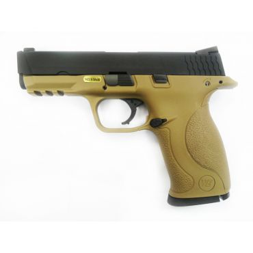 WE Toucan Metal Slide GBB Pistol ( Tan ) ( BK Slide, Tan Frame )