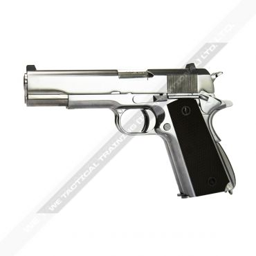 WE Double Barrel 1911 Full Metal GBB Pistol Airsoft ( SV )