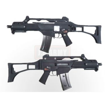 WE G39C Gas Blow Back Rifle Airsoft ( GBB ) ( Black )