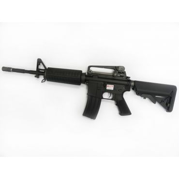 WE Full Metal M4A1 KATANA Airsoft AEG Rifle ( BK ) ( No Marking )
