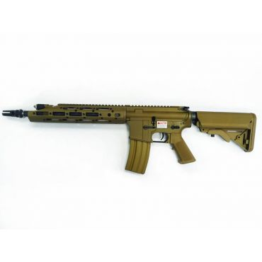 WE Full Metal M4 RAPTOR KATANA Airsoft AEG Rifle ( Tan )
