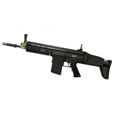 WE SCA Heavy Airsoft AEG Rifle CQB Ver. ( Black Edition )