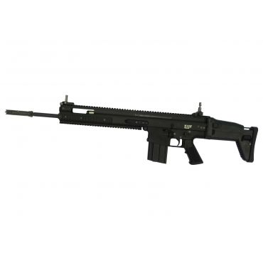WE SCA Heavy Airsoft AEG Rifle SSR Ver. ( Black Edition )