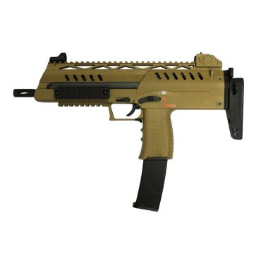 WE SMG-8 Airsoft Gas Blowback ( GBB ) ( Tan )