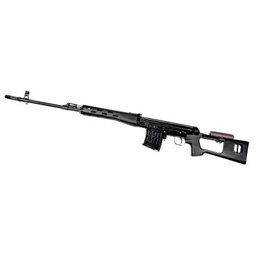 WE ACE VD ( SVD ) Sniper GBB Rifle ( Black , Aluminum )