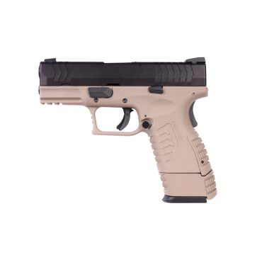 WE XDM Compact 3.8 GBB Pistol ( Tan )