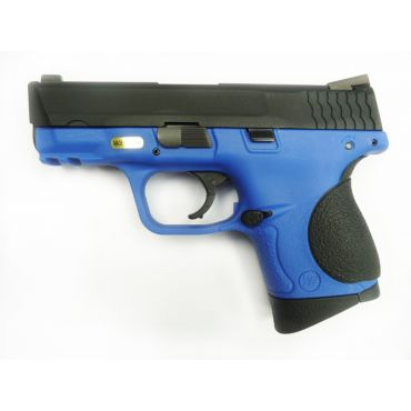 WE Toucan S Metal Slide GBB Pistol ( Blue ) ( BK Slide, Blue Frame )