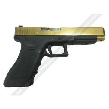WE G35 G3 Metal Slide GBB Pistol ( Gold )