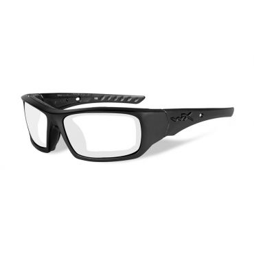 WILEY X Arrow Clear Lens/Matte Black Frame Shooting Glasses